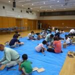 夏休み親子木工教室 開催しました!