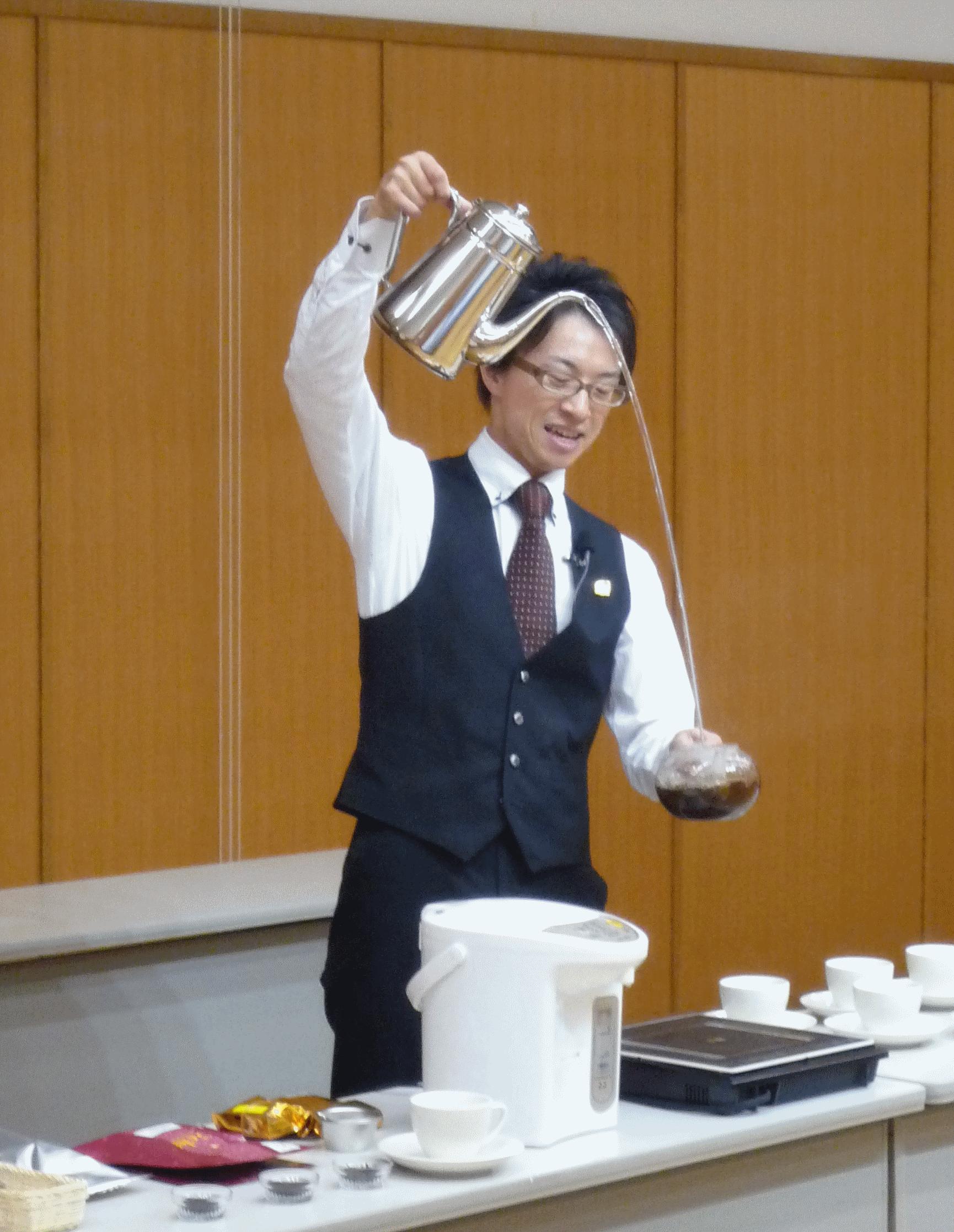紅茶会 松尾さん