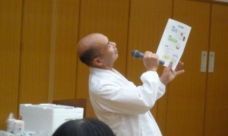 サツマイモ博士の福田豊さん サツマイモの歌を熱唱!