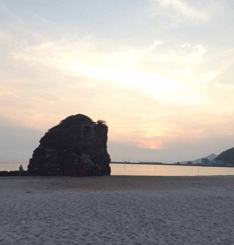稲佐の浜①